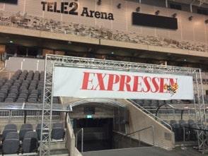 Expressen på Tele2 Arena