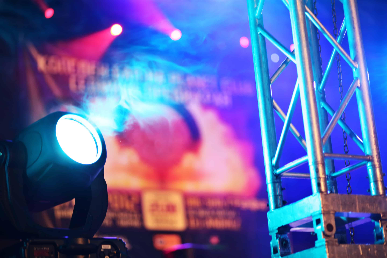Spotlight på scen