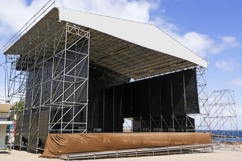 Installation av ljudanläggning på event